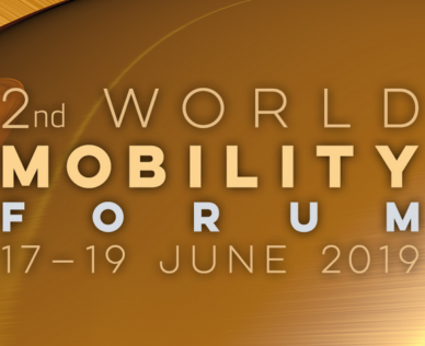 IONICA 2nd World Mobility Forum, 17. – 19. Juni 2019