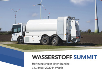 Wasserstoff Summit am 14. Januar 2020 in Wörth
